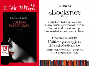 The Bookshop aperitivo con l'autrice del libro L'ultima passeggiata