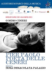 Pier Paolo Poeta delle ceneri(cartolina fronte)